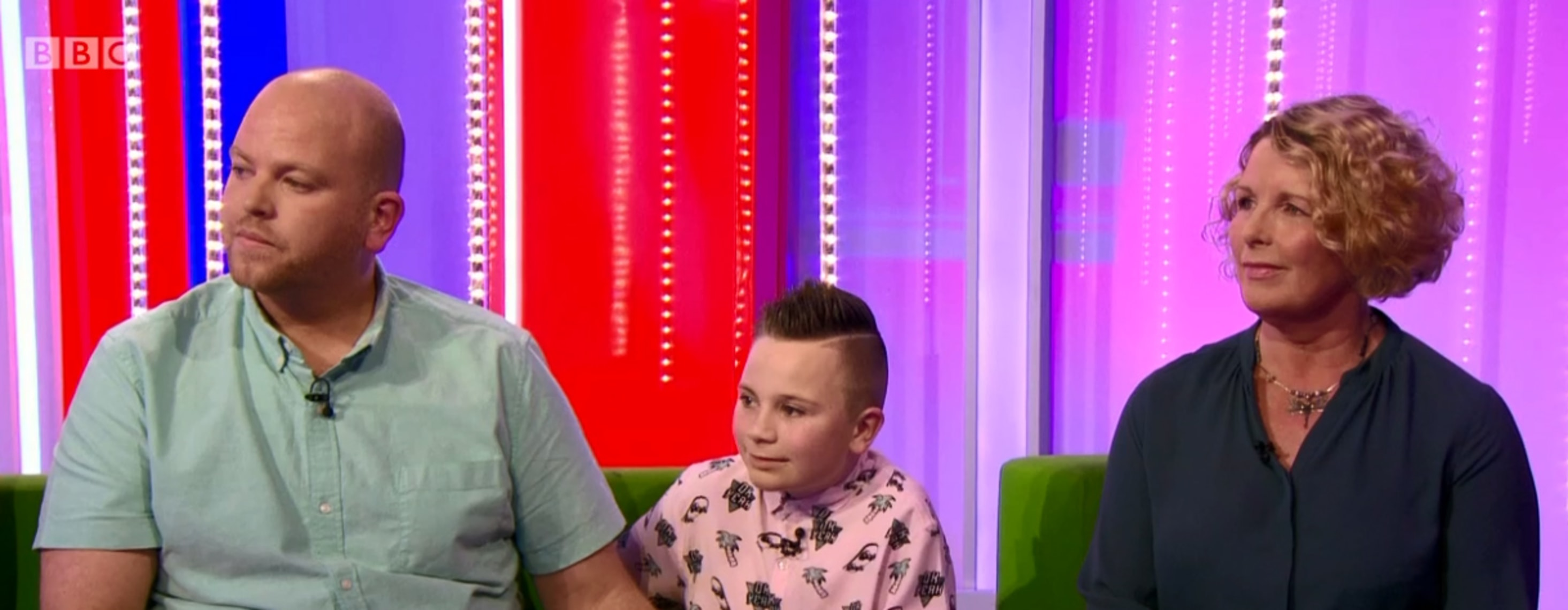 Adoption UK's chief executive on the BBC's The One Show discussing adopting children with disabilities